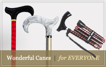 Walking canes for men and women