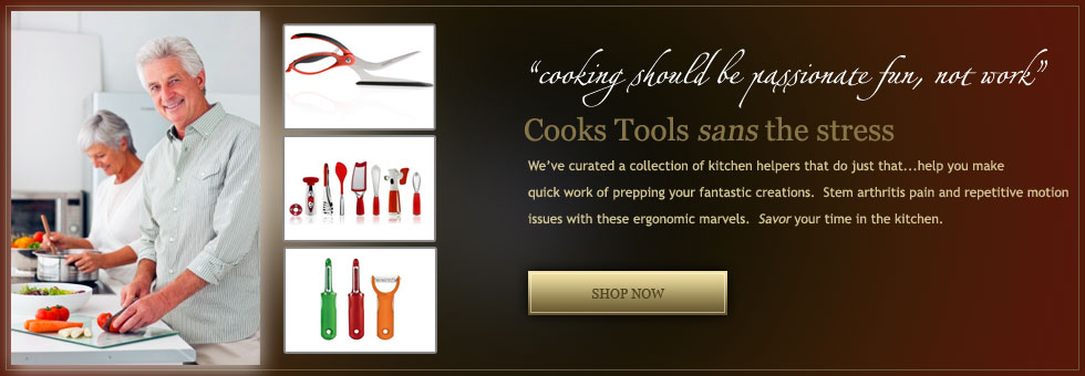 Ergonomic Kitchen Tools for Seniors and Aging Adults with Arthritis