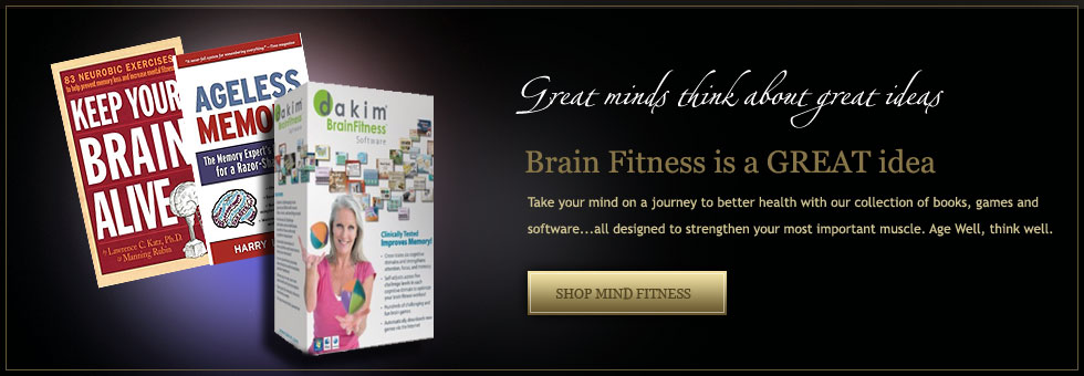 Mind Fitness Products&#58&#59; healthy brain activities