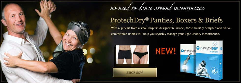 ProtechDry Panties, Briefs and Boxer