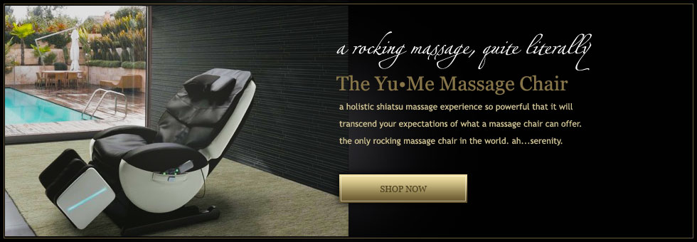 Yu&#8226&#59;Me Massage Chair from Inada