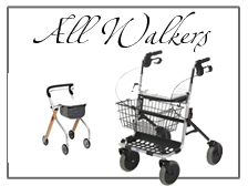 Walkers and Rollators for aid to daily living