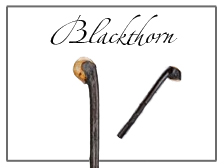 Genuine Blackthorn Walking Sticks, Canes & Staffs