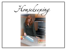Housekeeping: Cleaning and Floorcare