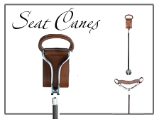 Folding Seat Walking Canes and Shooting Sticks