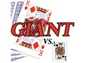 Piatnik Giant Size Playing cards are much larger!