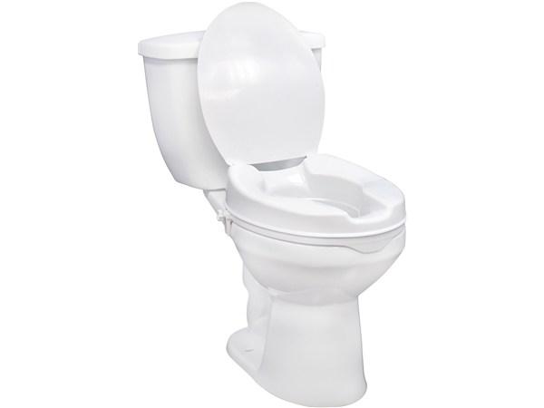 Raised Toilet Seat In 3 Heights With Lid Option Elderluxe