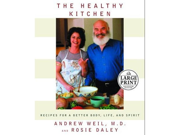 Dr. Andrew Weil Cookbook-- in LARGE Print