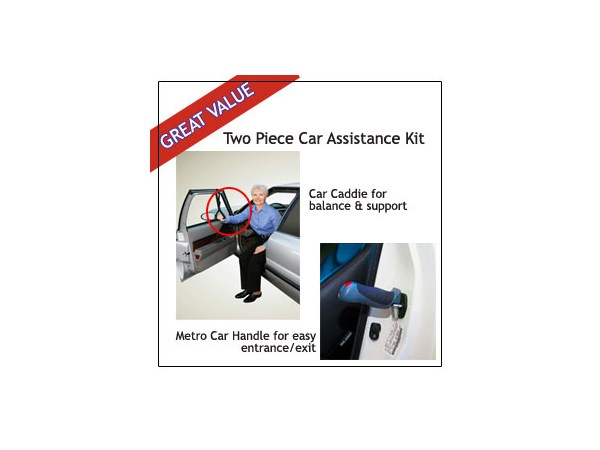 2 Piece Standers Metro Car and Car assist handle set