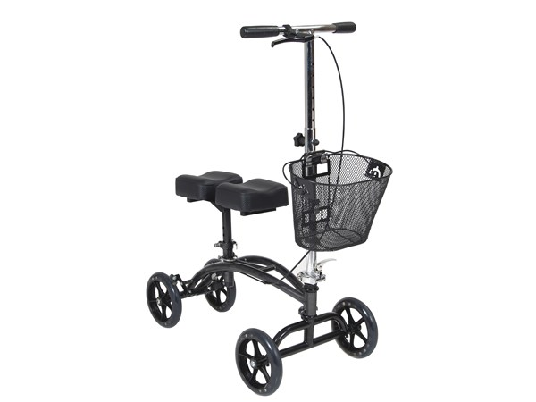 Steerable Knee Walker With Basket By Drive Medical Elderluxe