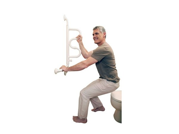 Stander Curve Grab Bar Elderluxe