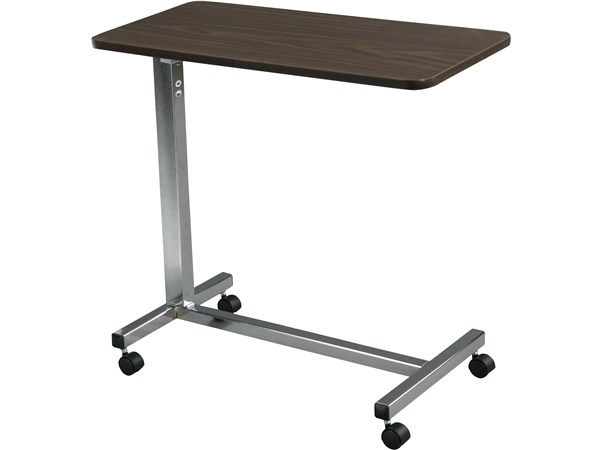 Drive Overbed Table in base chrome finish
