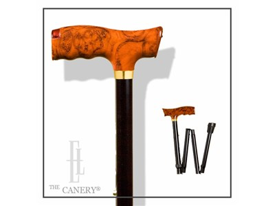 007 Folding Travel Cane with Secret Pill Compartment and Lights