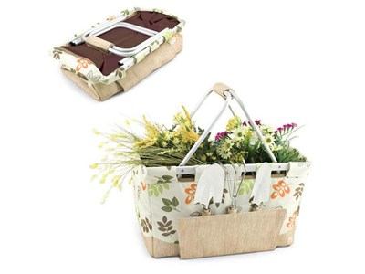 Gardener's Basket with Tools