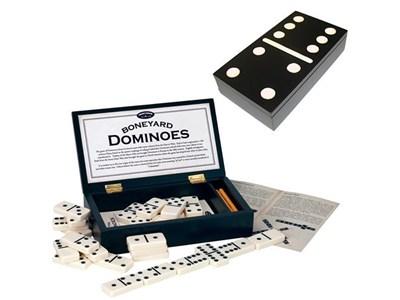 Boneyard Dominoes game box | Elderluxe