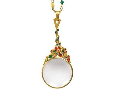 Tiffany Chandelier Magnifier Pendent