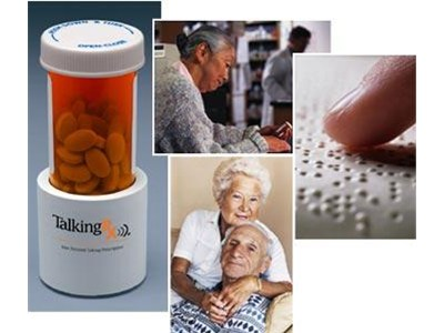 Talking Rx Pill Bottle Recorder And Medication Reminder