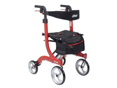 Nitro Rollator Walker In 3 Sizes Elderluxe