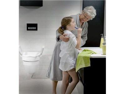 Awe Inspiring Etac Cloo Toilet Seat Raiser Elderluxe Theyellowbook Wood Chair Design Ideas Theyellowbookinfo