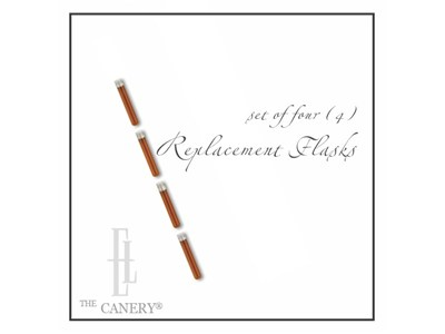 Flask Replacement Set for Connoisseur Flask Cane