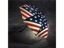 Stars & Stripes Patriotic LED Lighted Umbrella