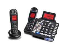 Clearsounds A1600BT DECT 6.0 iConnect Amplified Corded Cordless System with expansion handset