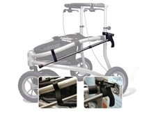 Trionic Veloped walker Cane and Gear Holder