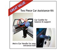 Stander Car Assist Caddie and Handle Set