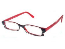 Zebari RED Designer Reading Glasses