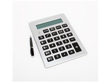 Large Format Calculator: Max Visual Display and Ergonomic Keyboard