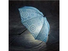 Designer Lighted Umbrella-Ripple Effect