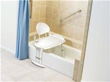 Moen Home Care Glacier transfer bench #DN7105