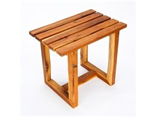 The NexAge® Teak Spa Stool