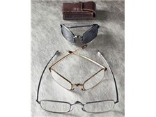 John Varvatos Folding Reading Glasses with Transitions lens
