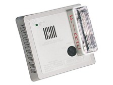 GenTex Strobe Smoke Detector with AC Plug-In