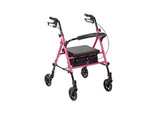 Limited Edition Pink Ribbon Breast Cancer Awareness Rollator by Drive