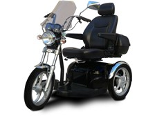 SportRider® 20k Electric Mobility Scooter with Windshield and Swivel Captain's Seat from EV Rider