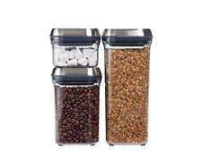 OXO SteeL 3-Piece POP Canister Set