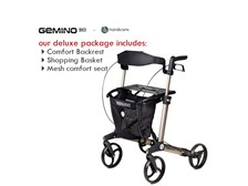 Gemino 30 Series Rollator from Handicare