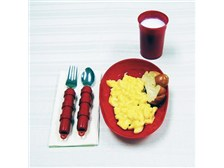 Red Tableware for Alzheimer's