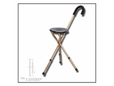 the Traveler Seat Cane with Adjustable Height