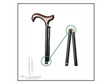 the Voyageur Folding Travel Cane