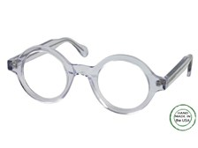 Clear Round Reading Glasses by Melissa Eyewear