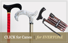 fashionable walking canes for men and women
