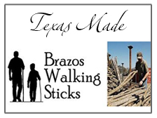 Brazos Walking Sticks and Canes
