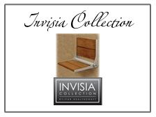 the invisia collection for home bath safety equpment, bath chairs, bath railings, bath safety rails