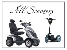 all mobility scooters, heavy duty scooters, lightweight scooters, travel scooters,
