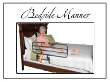 Bedside accessories for senior living and cargiving