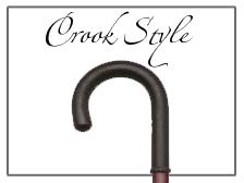 Crook Handle Luxury Walking Canes