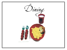 Dining Utensils for aging well, patients with Alzheimers